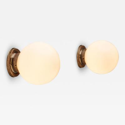 Paavo Tynell Paavo Tynell Model 2009 Ceiling Lights for Oy Taito Ab Finland 1930s