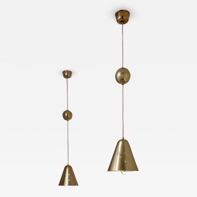 Paavo Tynell Paavo Tynell Pair of Adjustable Pendant Lights