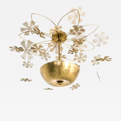Paavo Tynell Paavo Tynell Snowflake Chandelier 1950s