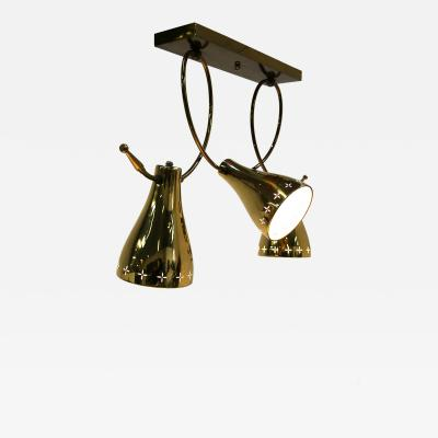 Paavo Tynell Paavo Tynell ceiling lamp from 1940 in brass