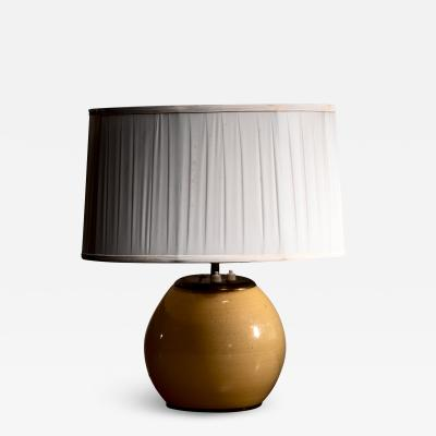 Paavo Tynell Paavo Tynell glass table lamp for Taito