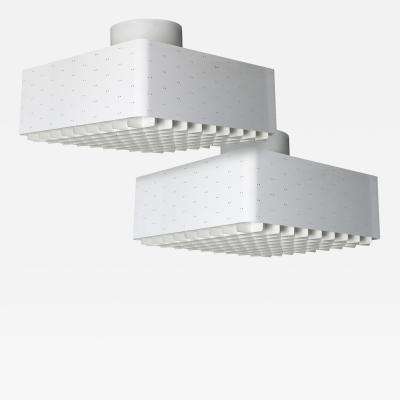Paavo Tynell Pair of Paavo Tynell Ceiling Lamps Model 9068