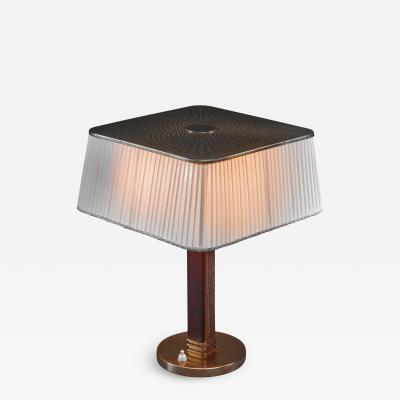 Paavo Tynell Rare Paavo Tynell Table Lamp for Taito Finland 1940s