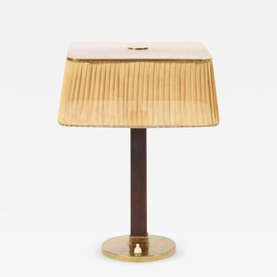Paavo Tynell Table Lamp by Paavo Tynell for Taito Oy Model 5066 circa 1945