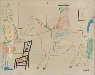 Pablo Picasso After Pablo Picasso 1954