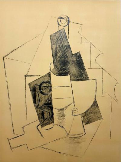 Pablo Picasso After Pablo Picasso Cubism Pochoir 1962