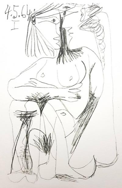 Pablo Picasso After Pablo Picasso Le Go t de Bonheur one plate 1970