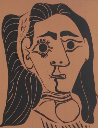 Pablo Picasso Jacqueline au Bandeau