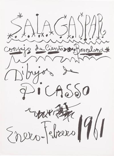 Pablo Picasso Original Picasso Lithography 1960