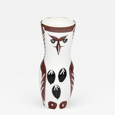 Pablo Picasso Owl Ceramic vase