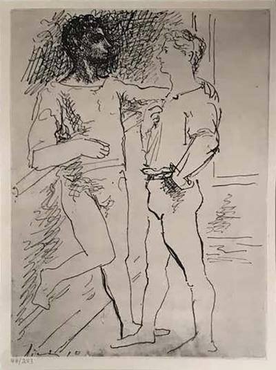 Pablo Picasso Pablo Picasso Etching 2
