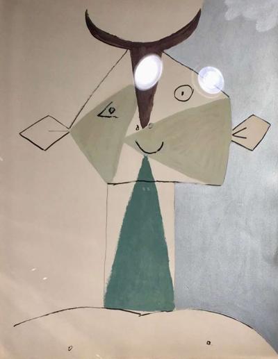 Pablo Picasso Pablo Picasso Faunes et Flores dAntibes 1960