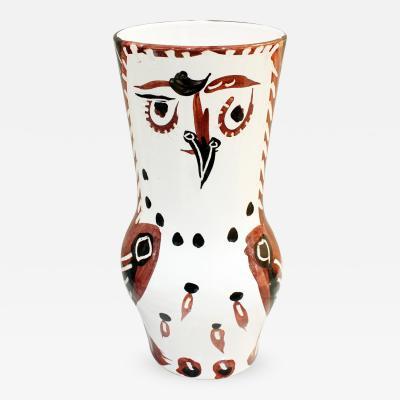 Pablo Picasso Pablo Picasso Large Ceramic Wood Owl Vase 1952