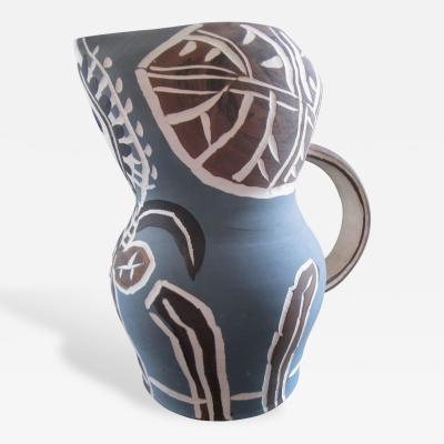 Pablo Picasso Pablo Picasso Madoura Collection Earthenware Pitcher