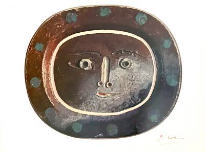 Pablo Picasso Signed Ceramiques Print by Pablo Picasso