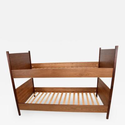 Pablo Romo Walnut and Rosewood Bunkbeds Modern