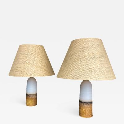 Paco Ponte Pair of Paco Orti Table Lamps circa 2020 Spain