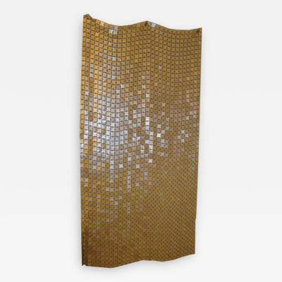 Paco Rabanne A Space Curtain in Gold and Black by Paco Rabanne