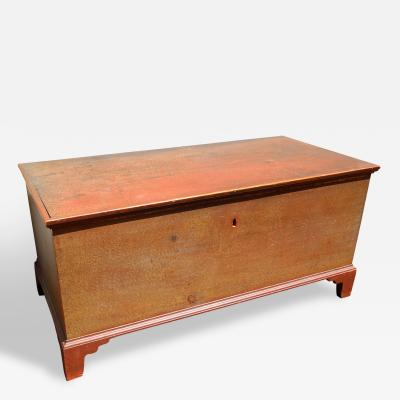 Paint Decorated Blanket Chest American Circa 1825
