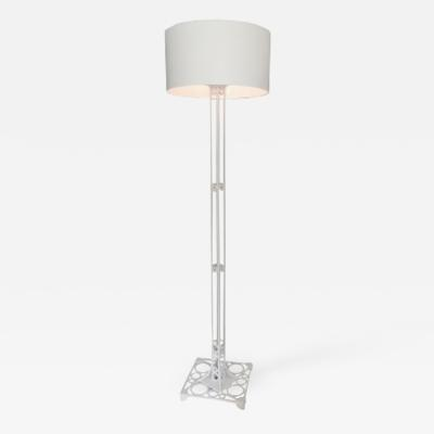 Painted Aluminum Floor Lamp