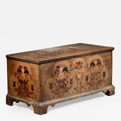 Painted Dower Chest