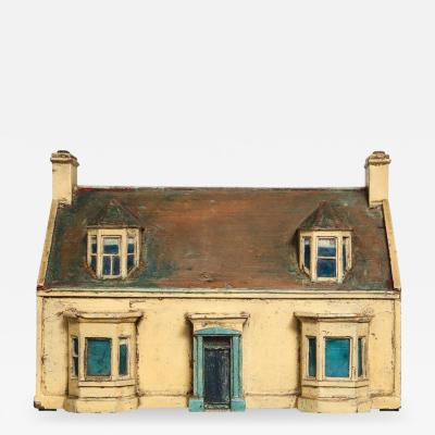 Painted Model House