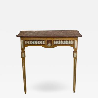 Painted Neoclassical Console Sweden Circa 1810