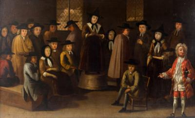Painting of Quaker Meeting