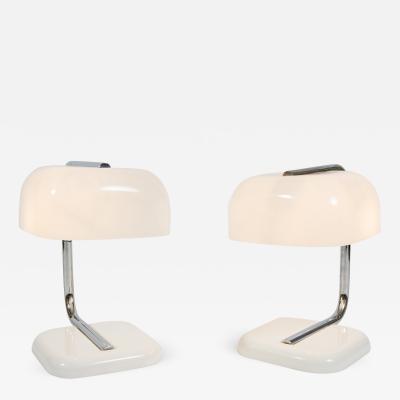 Pair 1950s Italian desk lamps