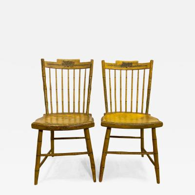 Pair Early 19th Century American Windsor Chairs