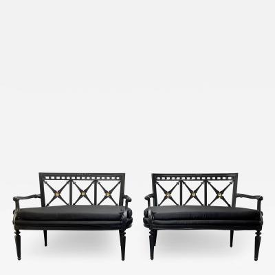 Pair Louis XIV Style Sofas