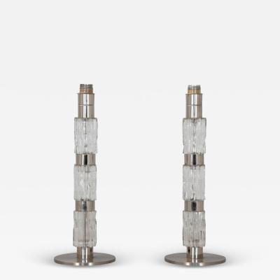 Pair Mid Century modern lamps