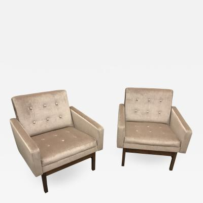 Pair Of Danish Club Chairs