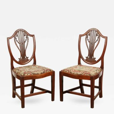 Pair of 18th Century English Georgian Chairs
