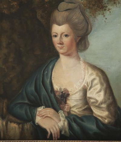 Pair of 18th Century Portraits of a Gentleman and a Lady