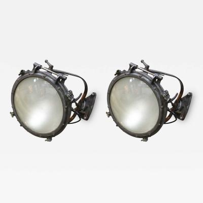 Pair of 1920s Westinghouse Flood Lights