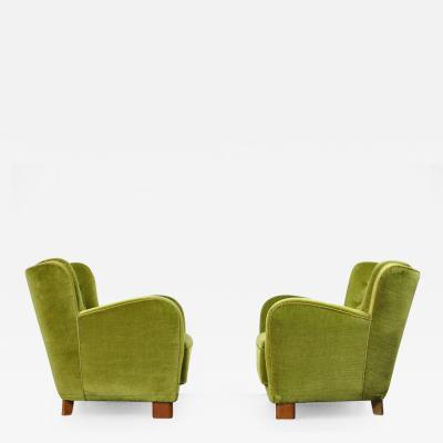 Pair of 1930s Danish Lounge Chairs