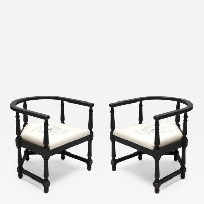 Pair of 1940s Armchairs