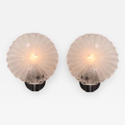 Pair of 1950s Italian star wall lights