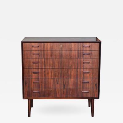 Pair of 1960s Danish Modern Rosewood Dresser