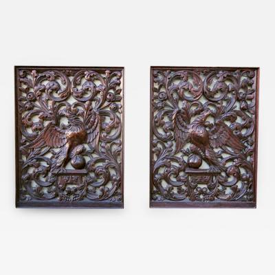 Pair of 19th Century American Panels