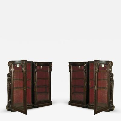 Pair of 19th Century Classical Revival Bookcases