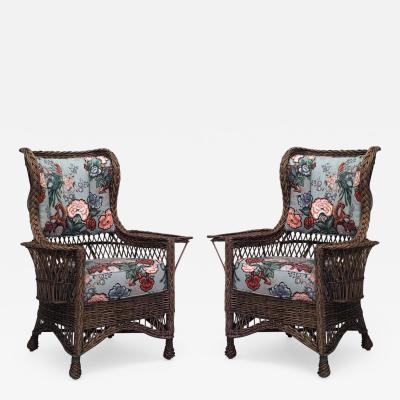 antique mid modern and modern wingback chairs on incollect