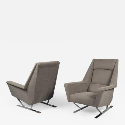 Pair of Armchairs France 1970s