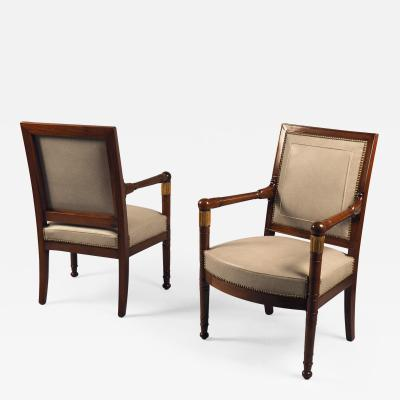 Pair of Armchairs France circa 1815