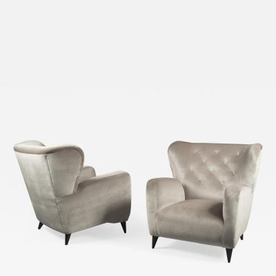 Pair of Armchairs Italy 1940s