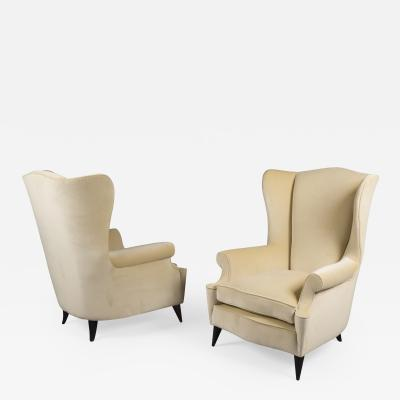 Pair of Armchairs Italy 1950s