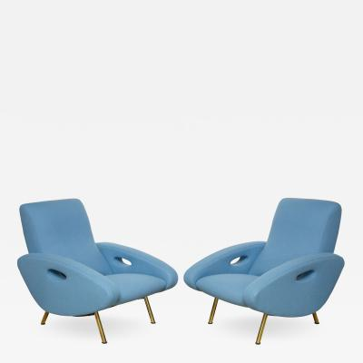 Pair of Armchairs by Francois Letourneur France c 1955