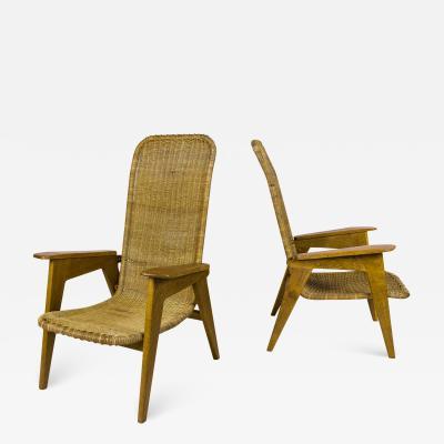 Pair of Armchairs circa 1950 France