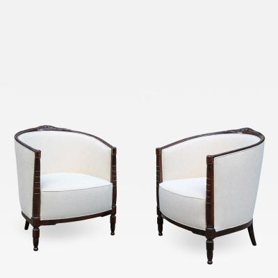 Pair of Art Deco Beregeres